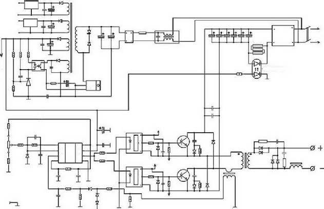 схема инверторного сварочного аппарата.